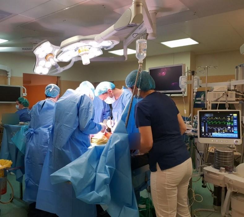 tratament comun într-un spital